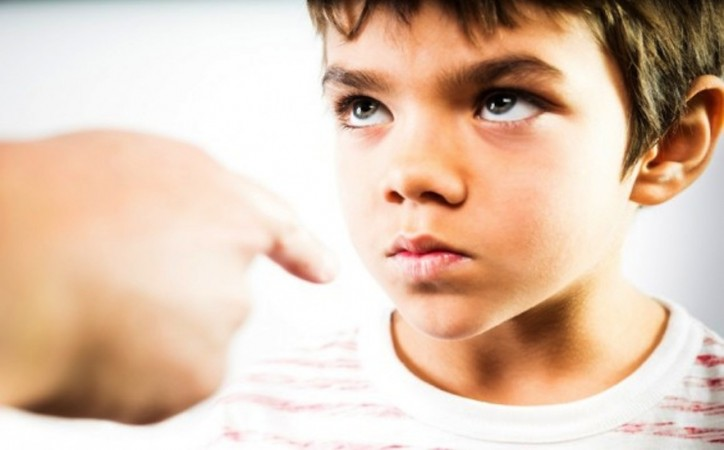 Children with defiant behavior